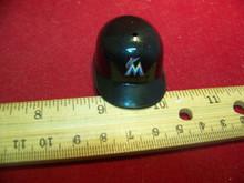 1/6th Scale Baseball Helmet Miami Marlins