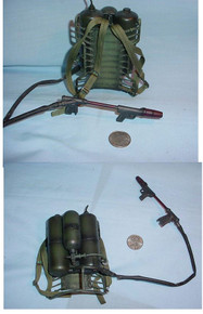 Miniature WWII US M2-2 Flamethrower RARE