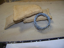 1/6 Scale JusticeFighter Exclusive 5 foot long Barb Wire only