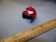 1:6th Scale Motorcycle Helmet w/Chin strap Spiderman