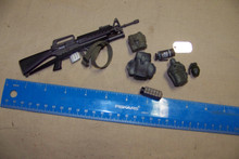 1:6th Scale Belt, Rifle & More #1