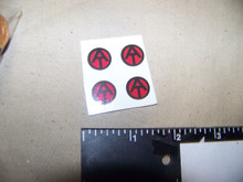 1/6th Scale  GI Joe ATV Uniform Stickers sheet