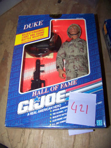 "1991 Hasbro GI Joe Hall of Fame Doll - Duke - 12"" Tall - Poseable - New in Box"