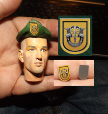 1:6 Scale 2dt Special Forces Flash, Beret sold separtely