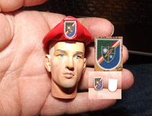1:6 Scale 75th Ranger Flash, Beret sold separtely #2
