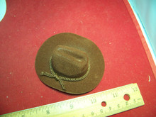 1/6th Scale Brown Cowboy Hat For Larger Heads