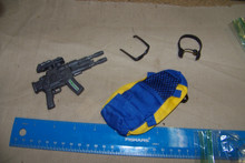 1/6 Scale Backpack, Pistol, Headset w/Mike & More #3