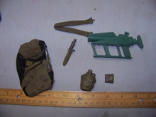 1:6th Scale Backpack,Belt, Rifle & more