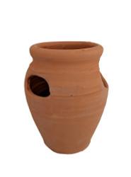 """Standard Strawberry Pot - Herb Jar - Terracotta - 4 Pocket - Quart - 4.5"""" x 7"""""""