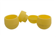 "Self Watering Plant Pods -3 Pack 3""-Yellow-Great For All House Plants/Succulents"