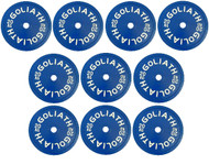 200kg Pack Goliath Calibrated Powerlifting Plates (5 PAIRS)