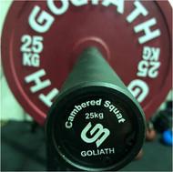 Goliath 25kg 30mm bow bar - Black zinc