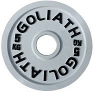 PRESALE - JULY -  Goliath Calibrated Powerlifting Plate - 5kg (PAIR)