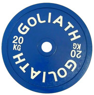 PRESALE - JULY - Goliath Calibrated Powerlifting Plate - 20kg (PAIR) - LIMITED QUANTITY