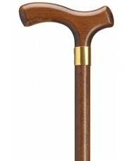 Imported Walnut Fritz  Walking Cane H9005307