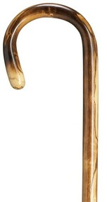 Imported Ladies Crook Handle -Polished Scorched H9015600