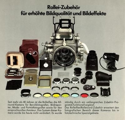 Rollei-Zubehör für erhöhte Bildqualität und Bildeffekte