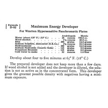 Maximum Energy Developer Formula D-82 - Free Download