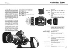 Rollei SL66 System Camera - 1976 Sales Sheets - Free Download