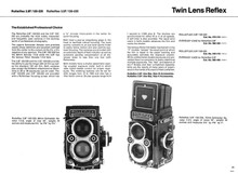 Rolleiflex Twin Lens Reflex Cameras 1976 Sales Sheets - Free Download