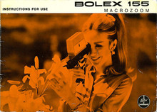 Bolex 155 MACROZOOM Instructions For Use - Bolex Paillard Super 8mm Camera 1968 - Free Download