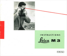 Instructions Leica M3