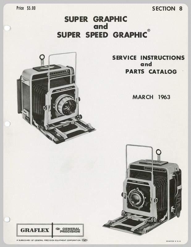 graflex super graphic manual