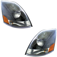 Set of Volvo VNL Generation 2 Headlights (82329127DEP- 82329124DEP)