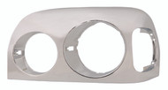 Chrome Freightliner Century Headlight Bezel (1996-2006) - Driver Side