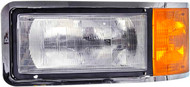 Replacement Mack Headlight With Parking Lamp & Bezel  - Driver Side