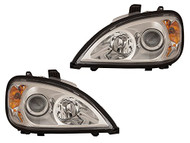 Freightliner Columbia Headlight Set (Chrome)