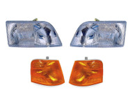 Volvo VNL Front Light 4 Piece Set