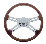Peterbilt Wood Grain Steering Wheel