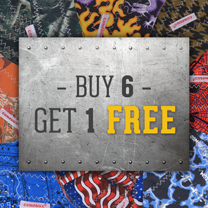 Hard Brim: Buy 6, Get 1 Free