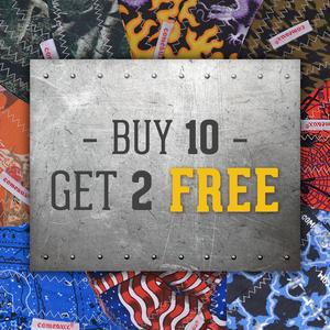 Harm Brim: Buy 10, Get 2 Free