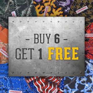 Do-Rag: Buy 6, Get 1 Free
