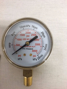 "2.5"" Regulator Gauge 0-4000 PSI"