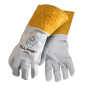 Large Tillman 25BL Leather Cuff Split Deerskin Kevlar Sewn Tig Gloves