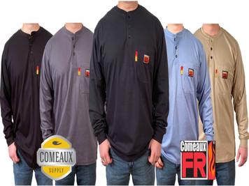 Comeaux FR Henley Shirt