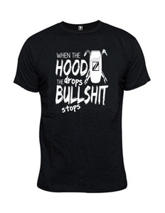 Hood Drop T-Shirt - Comeaux Supply
