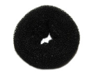 Black Hair Bun Donut - Small