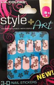 L.A. Colors 3D Stickers-CNA956