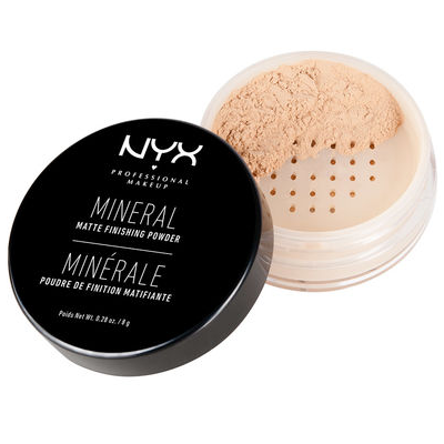 "NYX Mineral ""Set It & Don't Fret It"" Matte Finishing Powder (MFP) ladymoss.com"