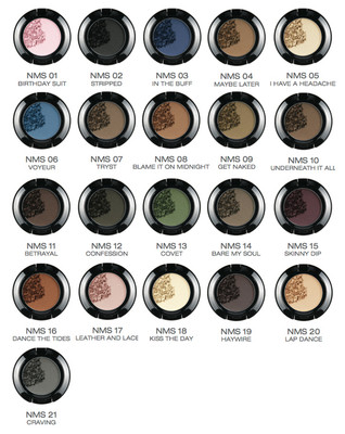 NYX Nude Matte Shadow NMS picture image swatch