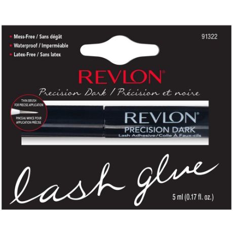 5edf22a63fc Shop for Revlon Precision Dark Lash Adhesive Latex Free at LadyMoss.com.
