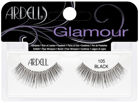 e71ec9dc5e3 Ardell 105 Black (65002) false eyelashes lady moss beauty