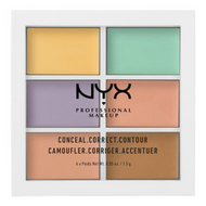 NYX Color Correcting Palette (3CP04) Lady Moss Beauty