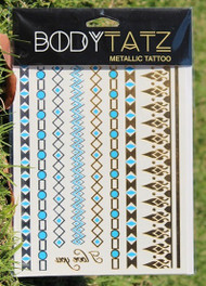 Body Tatz Metallic Tattoo - BT026