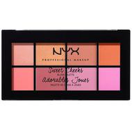 NYX Sweet Cheeks Blush Palette (SCBP) ladymoss.com