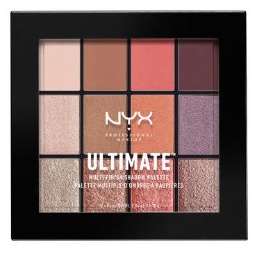 NYX Ultimate Multi-Finish Shadow Palette (USP) ladymoss.com